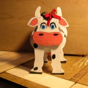 "Cow planter box, ""Betsy"""