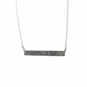 Sterling Silver Coordinate Necklace