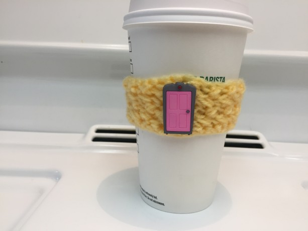 Monsters INC. Inspired Coffee Cozy