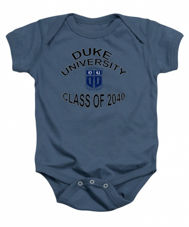 Duke University Class Of 2040 Baby Onesie