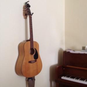 Single Guitar wall hanger