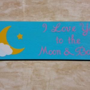 handmade wooden sign, wooden sign, nursery room sign, nursery decor, childs room sign, baby sign, handmade nursery sign