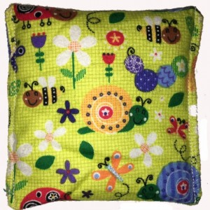 Boo-Boo Bags Hot/Cold Packs Reusable Ouchee Heat Packs 2 BooBoo Packs Total Snail