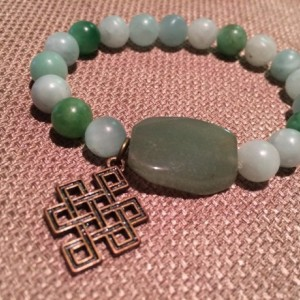 Green Irish Bracelet