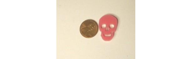 12 skulls,skull charms,kawaii charms,skull charms,laser cut