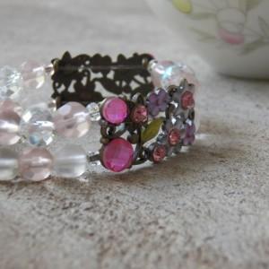 Annabelle Bracelet, Pink