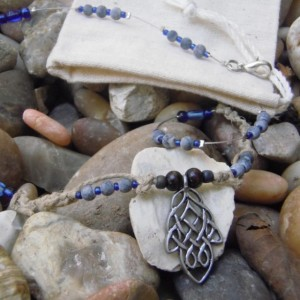 """Life Giving River"" Celtic Knotwork Necklace"