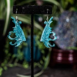 Polymer Fairy Wing Earrings