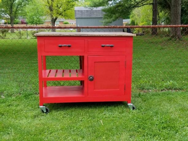 customizable kitchen island kitchen storage rolling island se aftcra. Black Bedroom Furniture Sets. Home Design Ideas
