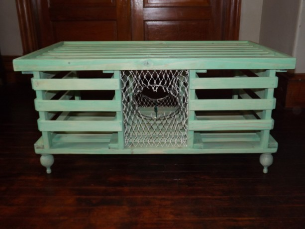 Handmade Wooden Lobster Trap Coffee Table Quot Sea Mist