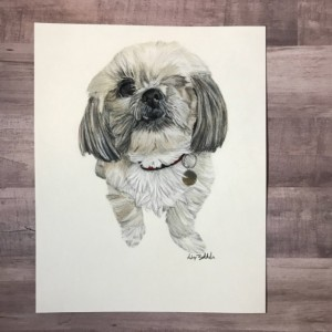 Pet Portrait Gift (8x10), Pet Portrait, Custom Pet Portrait, Pet Portrait Custom, Custom Dog Portrait, Dog Portrait, Dog Portrait Gift