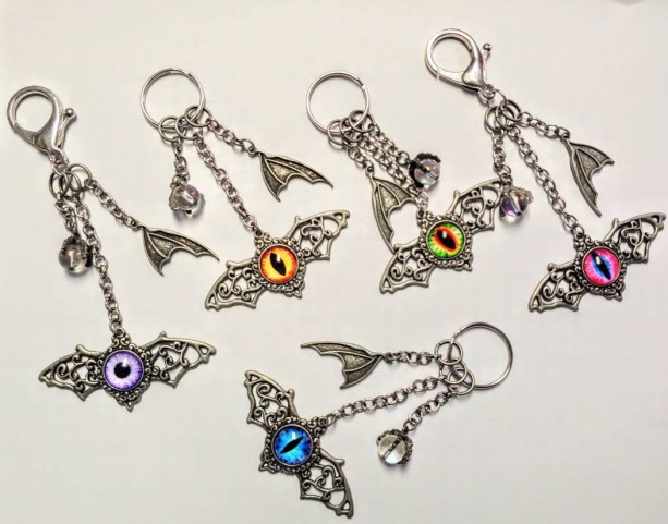 Dragon Eye Keychain