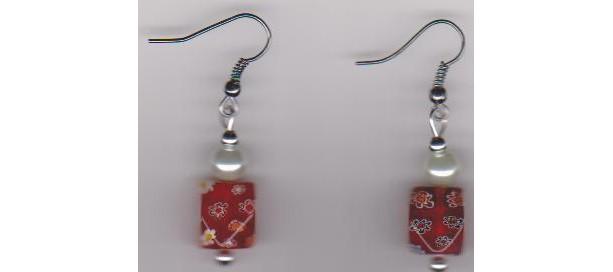 Cherry Jubilee Ladies Pierced Earrings