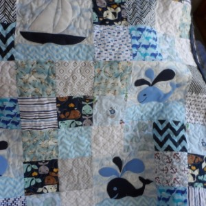 nautical baby quilt