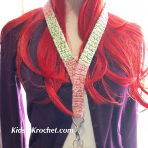 lanyard with your choice of ring and color, Includes clip