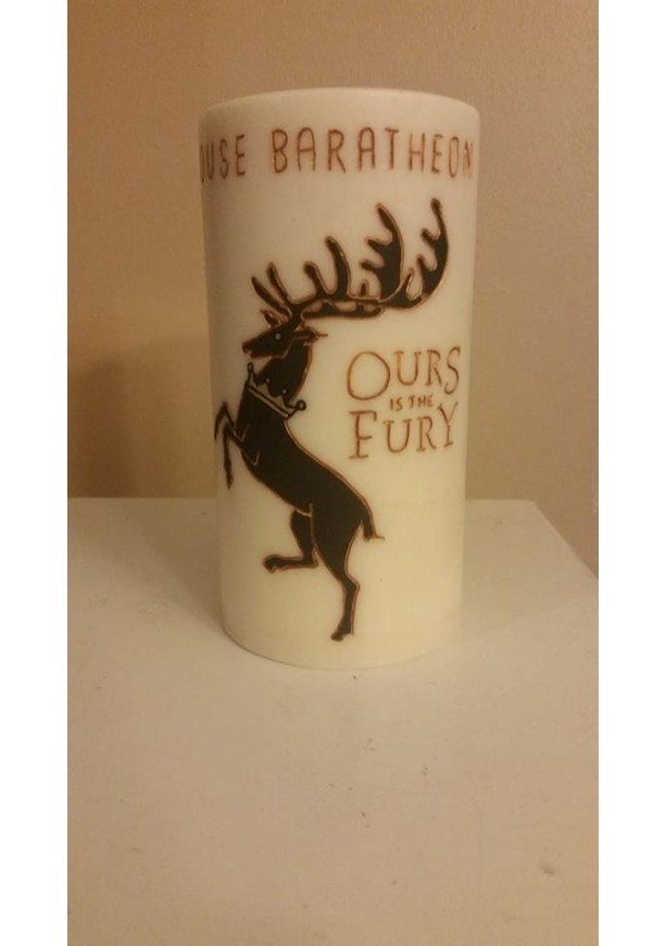 "3x6 ""House Baratheon"" Pillar Candle"