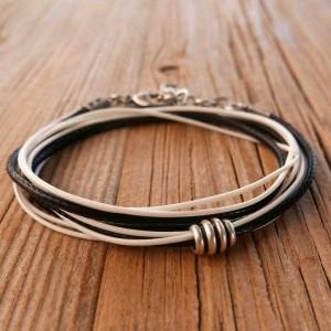 Men's Bracelet - Men's Beaded Bracelet - Men's Vegan Bracelet - Men's Jewelry - Men's Gift - Boyfriend Gift - Husband Gift - Guys Jewelry