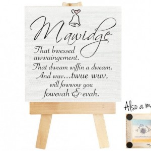 Mawidge Princess Bride mini canvas magnet. Princess Bride, funny marriage quotes, bridal shower gift, mawwidge, mawwige