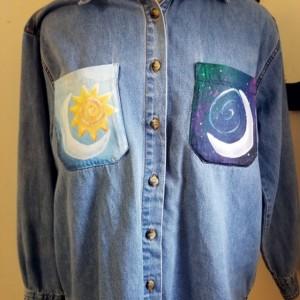 Sun Moon Wave Shirt