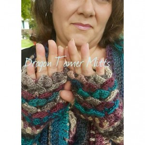 Dragon Tamer Fingerless Mitts