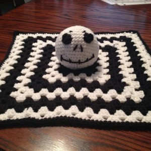 Crochet Jack Skellington Lovey
