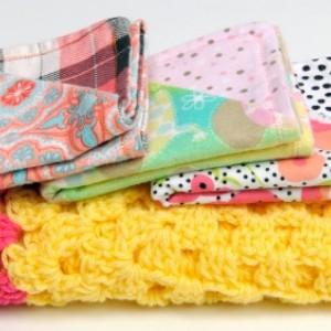 Baby Burpie  and Blanket Set