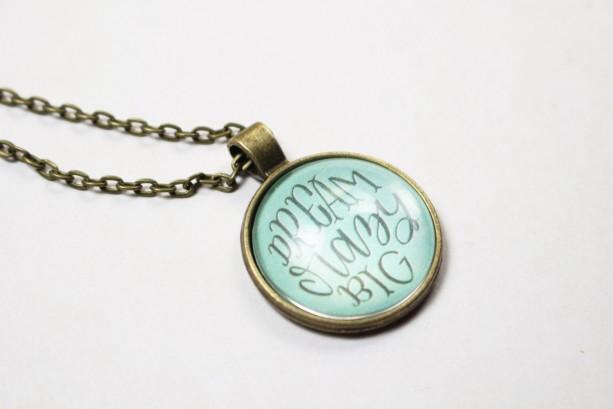 Dream Crazy Big Handmade Pendant Necklace