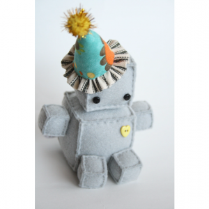 Wee Plush Birthday Robot
