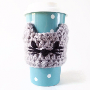Cat Coffee Travel Mug Sleeve