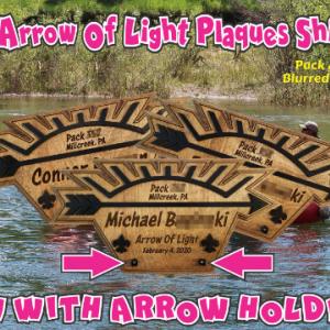 Arrow Of Light Plaque