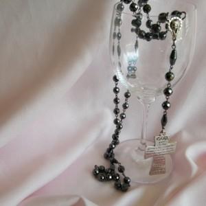 Hematite Rosary Bead set