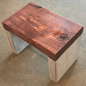 Toddler Step Stool Single Step Rustic Step Stool Aftcra