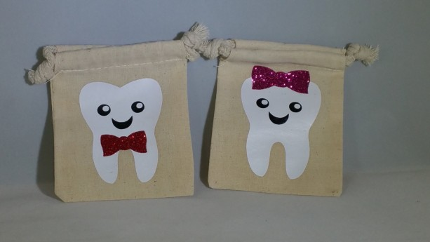 Personalized tooth fairy bag, tooth fairy pouch, tooth holder, kids gift, tooth fairy keepsake, girl boy tooth fairy bag, gifts for kids
