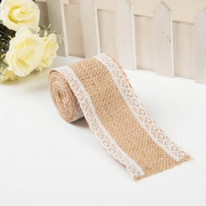 rustic burlap ribbon trim laced Burlap Ribbon, 2in Chevron Burlap Ribbon 6ft x 2