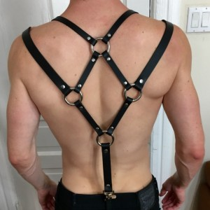 Diamond Back Harness Suspenders