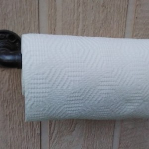 Industrial Paper Towel Holder/ Rustic Kitchen Décor