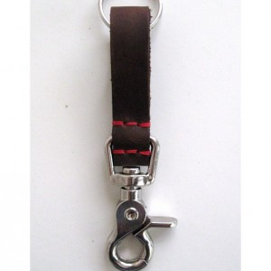 Small Leather Key Chain
