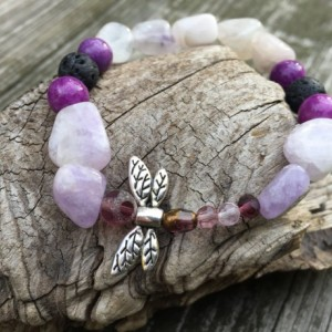 Dragonfly Aromatherapy Essential Oil Diffuser Bracelet