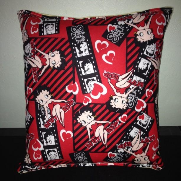Details about  Betty Boop Pillow Classic Vintage Cartoon Boop Pillow HANDMADE USA