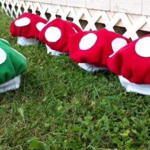 Mushroom hat for baby or kids