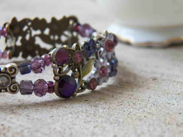 Annabelle Bracelet, Purple
