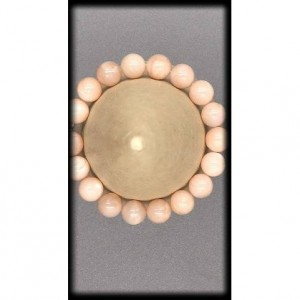 Sunstone Solid Gemstone Bracelet for Independence and Vitality