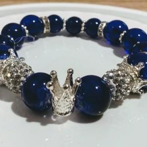 Blue Ice Royalty Bracelet