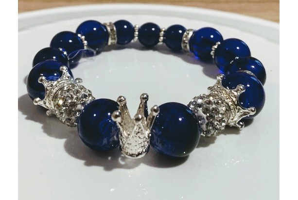 Blue Ice Royalty Bracelet