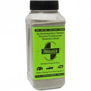 SMELLEZE Natural Industrial Odor Eliminator Deodorizer Granules: 2 lb. Bottle Eliminate Smell & Fumes