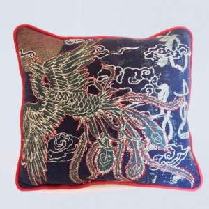 Dragon Bird T-shirt pillow