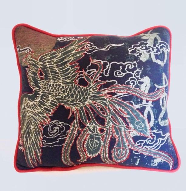 Dragon Bird T-shirt pillow