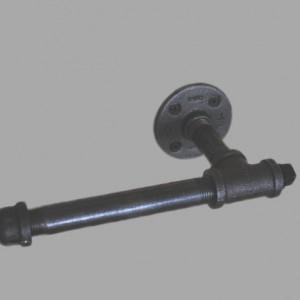 Industrial Steel Pipe Toilet Paper Holder.  Urban Industrial