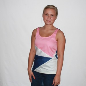 Lincoln Coral Organic Tank Top