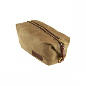 Canvas Shaving Toiletry Bag Dopp Kit